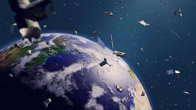 Запланирована первая миссия по очистке космоса от мусора (ch)