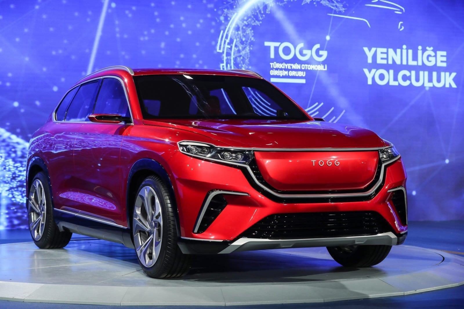 Первый автомобиль Турции - электрический внедорожник TOGG (dims 3 1)