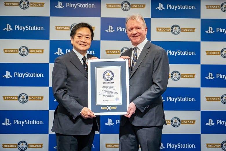 Sony PlayStation попала в Книгу рекордов Гиннесса ()