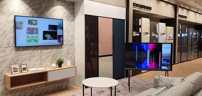 Samsung открывает обновленный флагманский магазин на Тверской (featured8)