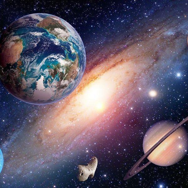 Космические итоги 2019 года (fotooboi e 39648 kosmos planeti galaktiki mlechniy putj zakazposterov ru z)