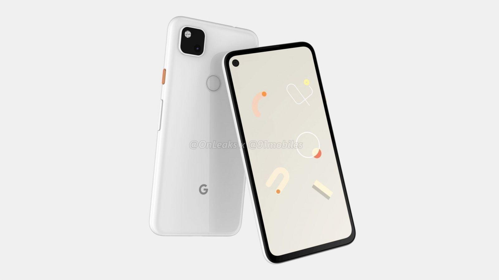 Новые рендеры Google Pixel 4a рассекретили камеру ()