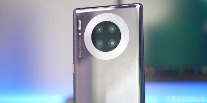Huawei и Honor запустили новогодние акции в магазинах (huawei mate 30 pro camera module)