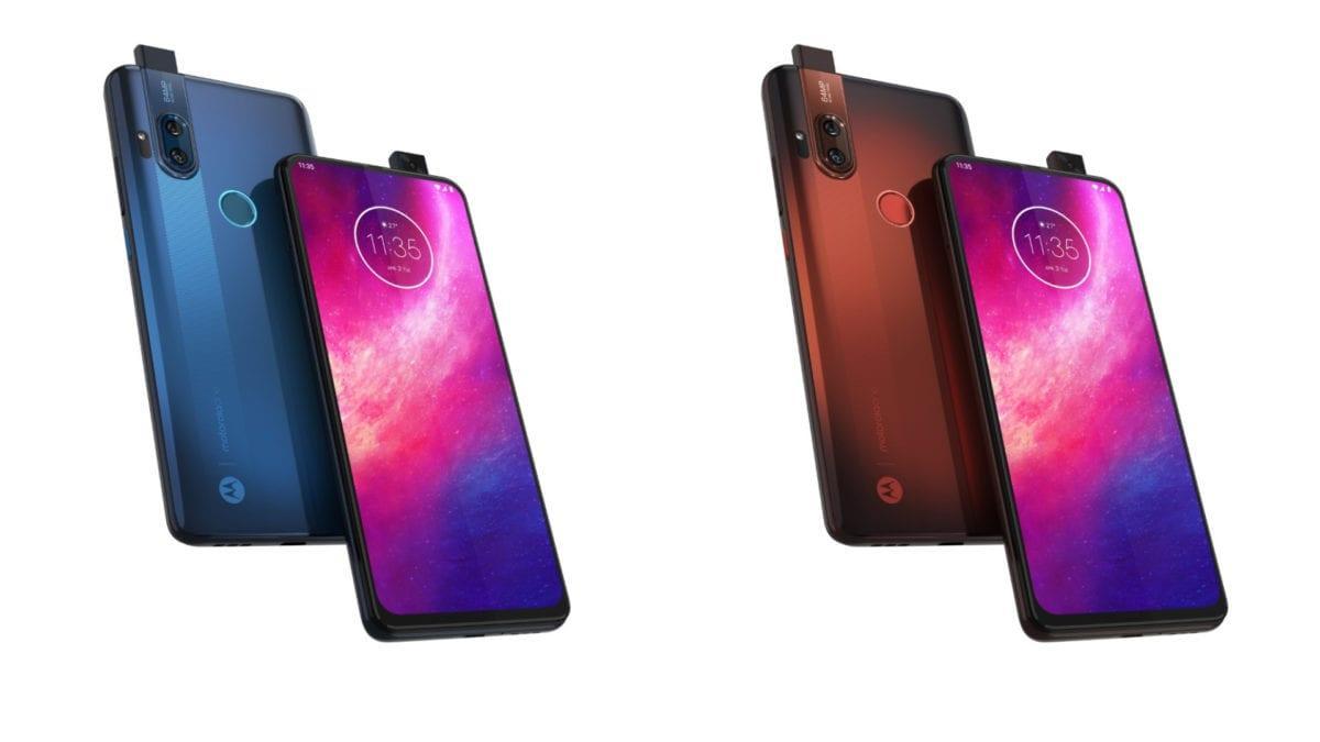 Motorola официально представила смартфон One Hyper (motorola one hyper blue copper ofiicial photos)