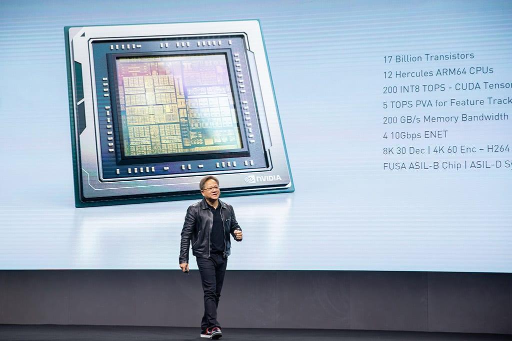 NVIDIA создала сверхмощный чип для беспилотников (nvidia drive agx orin 1)