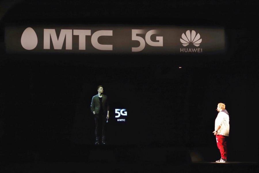 МТС впервые провела голографический телемост по сети 5G (oyqjzpw5 md)