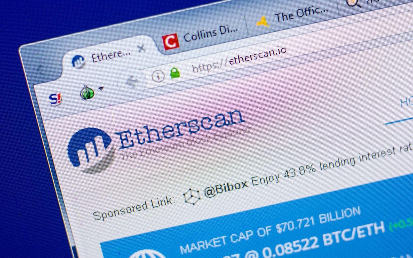 Китай заблокировал доступ к популярному блокчейн-сервису Etherscan.io (shutterstock 1098457598)