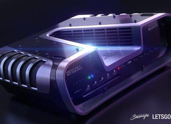 Итальянский дизайнер создал красочные рендеры PlayStation 5 и DualShock 5 (sony ps5 console large)