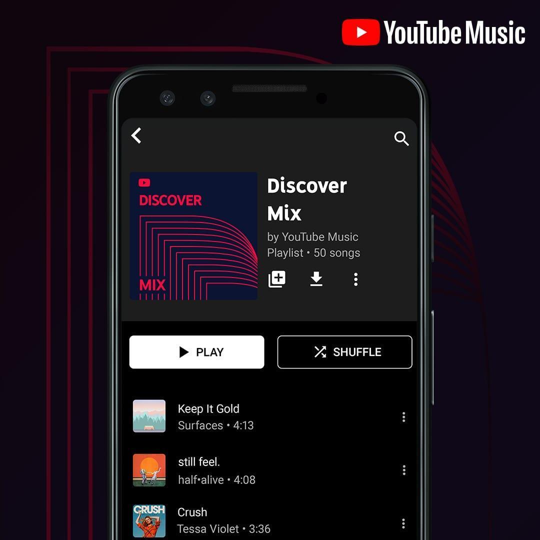 Google представил глобальное обновление музыкального сервиса YouTube Music (ytm mixedforyou pr)