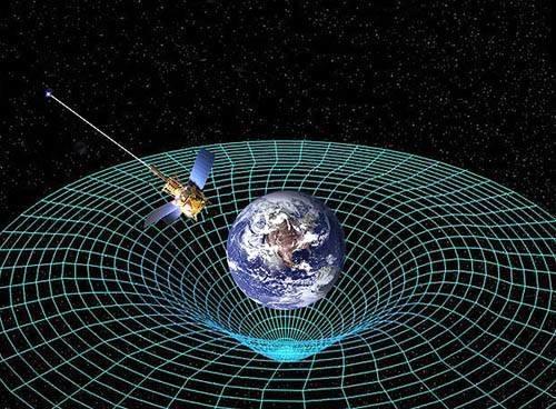 Эйнштейн был прав. Пространство-время вращается вокруг мертвой звезды ()