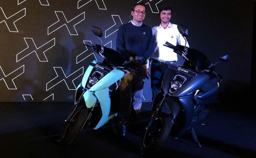 """Компания Ather Energy представила """"умный"""" скутер с SoC Snapdragon на борту (25 1)"""