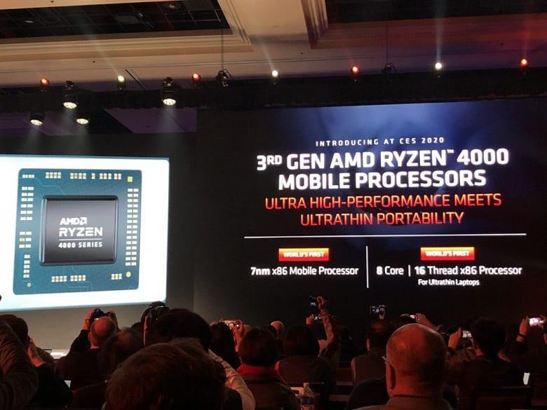 CES 2020. AMD представила серию процессоров AMD Ryzen 4000 Renoir (26b43018 dc0b 46c1 85c4 ce4881e57e47)