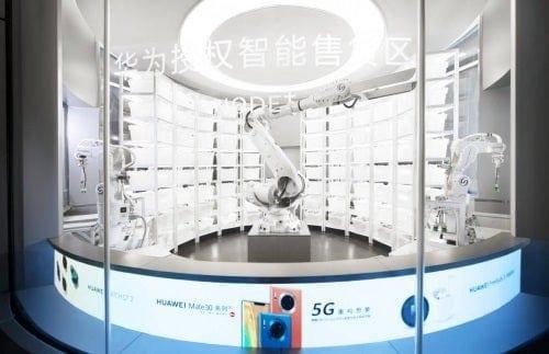 Huawei открыла магазин с роботизированным персоналом (333)