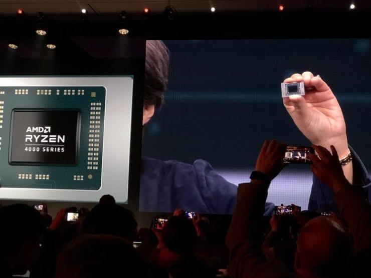 CES 2020. AMD представила серию процессоров AMD Ryzen 4000 Renoir (3693c219 7ae4 4c72 87af 4e87cf4907d4 740x555 1)