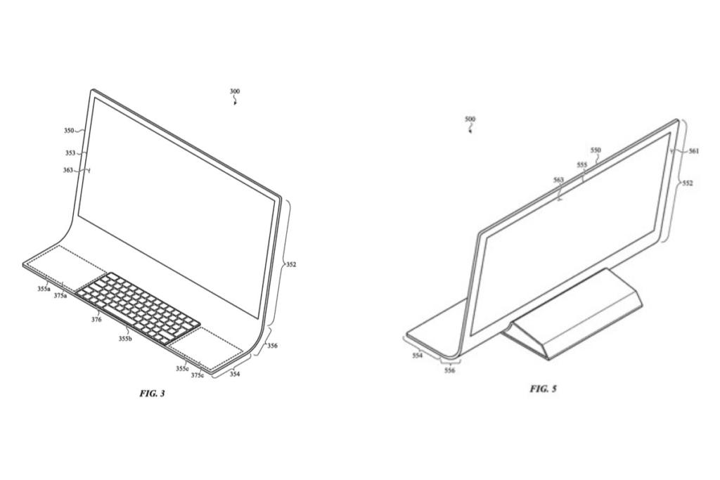 Apple запатентовала гибкий Mac (apple imac design concept 1024x683 1)
