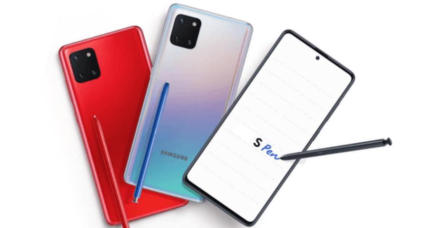 Смартфон Galaxy Note10 Lite поступил в продажу в России (bez nazvanija 1)