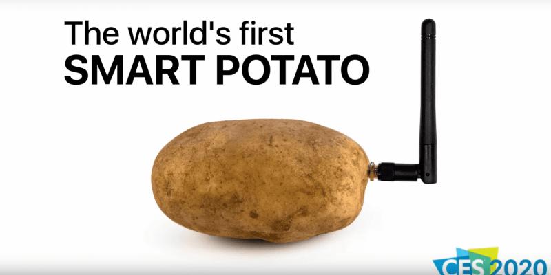 CES 2020. Показали умную картошку, которая может общаться с пользователем (bezymjannyj 2)