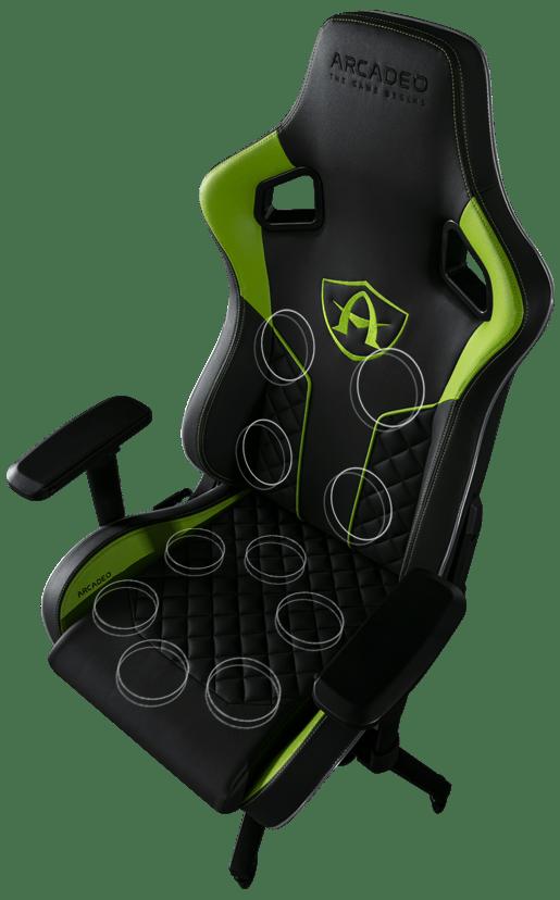 CES 2020. Показали вибрирующее кресло для геймеров (fauteuil actuators3)