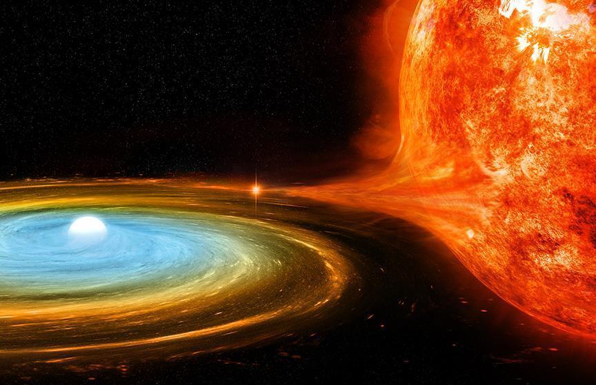 Эйнштейн был прав. Пространство-время вращается вокруг мертвой звезды (field image wdac0)
