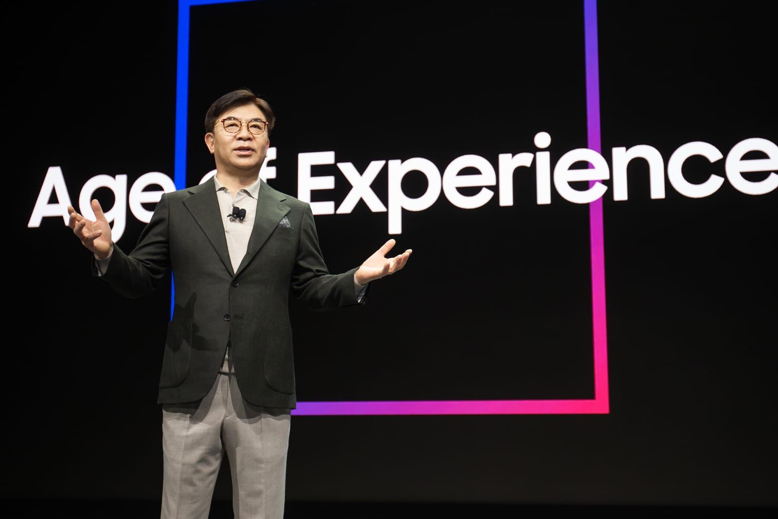 CES 2020. Samsung показал новые технологии, ориентированные на человека (hs.kim ces keynote 1)