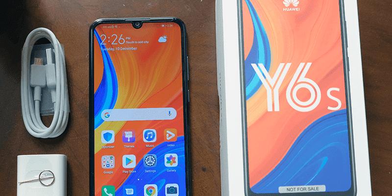 Смартфон Huawei Y6s поступил в продажу в России (huawei y6s unbox)