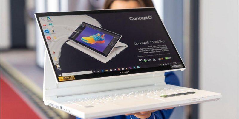 CES 2020. Ноутбук-трансформер ConceptD 7 Ezel от Acer (maxresdefault 2 1)