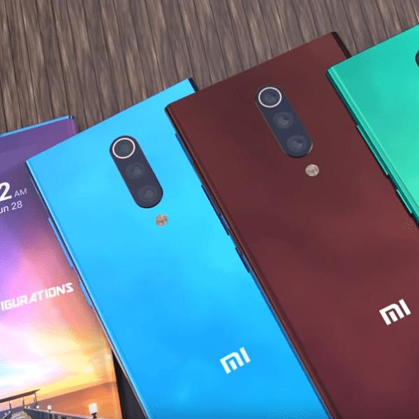 Опубликованы первые живые фотографии смартфона Xiaomi Mi 10 (mi 10 concept)