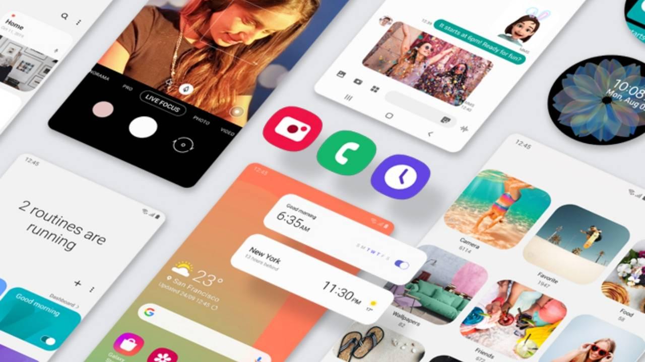 Смартфоны Samsung Galaxy S9 начали получать Android 10 (one ui kv mo 02 1280x720 1)