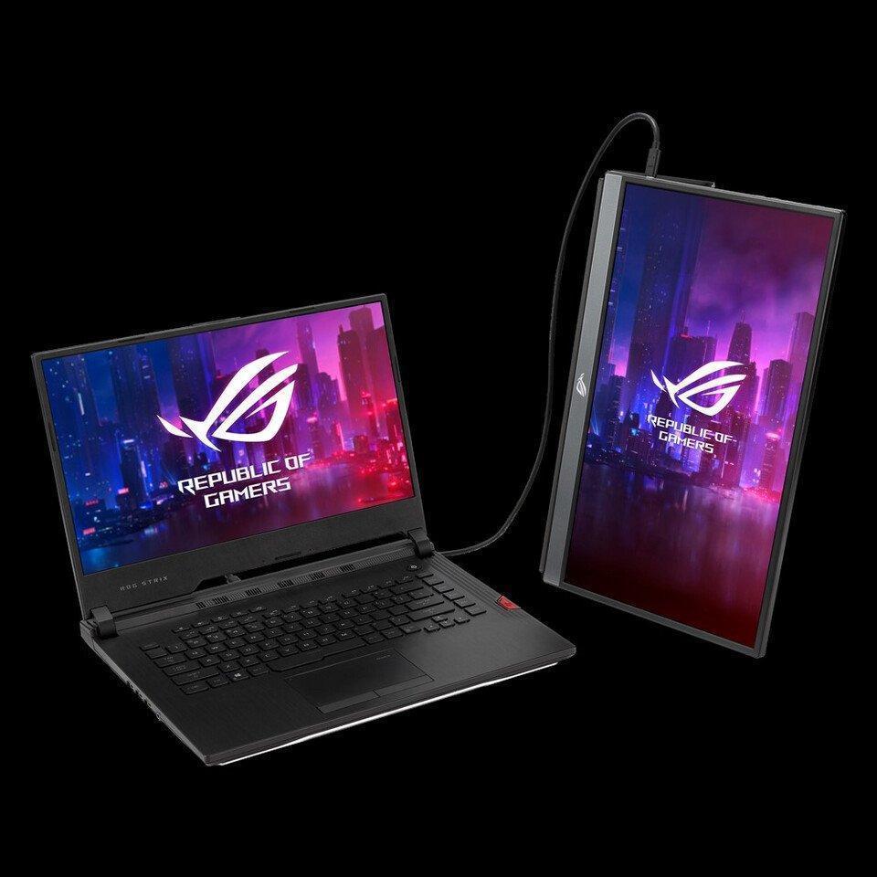 ASUS представила портативный игровой монитор Asus ROG Strix XG17AHPE (pzlvcyvpa1kj0vho)