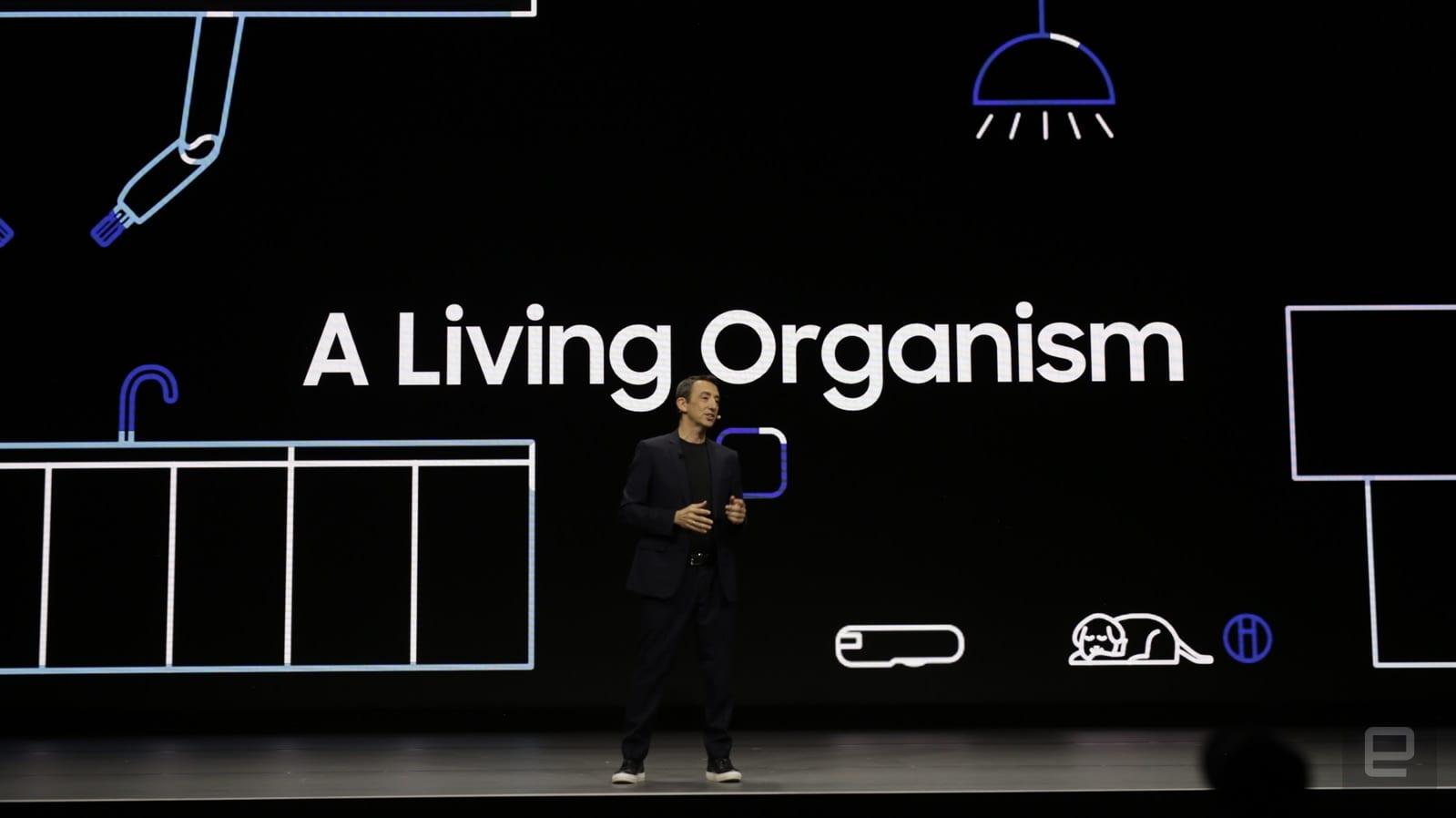 CES 2020. Samsung показал новые технологии, ориентированные на человека (samsung ces 20 2466)
