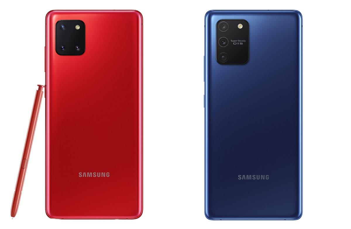 CES 2020. Samsung представила смартфоны Galaxy S10 Lite и Galaxy Note10 Lite (samsung galaxy note10 lite price)