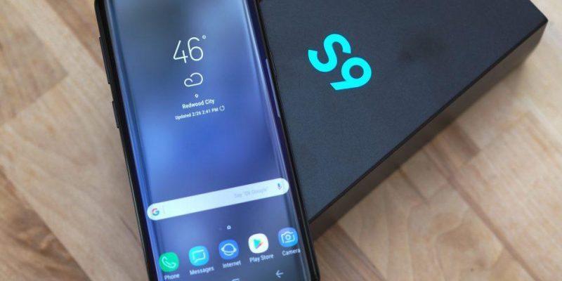 Смартфоны Samsung Galaxy S9 начали получать Android 10 (samsung galaxy s9 top)