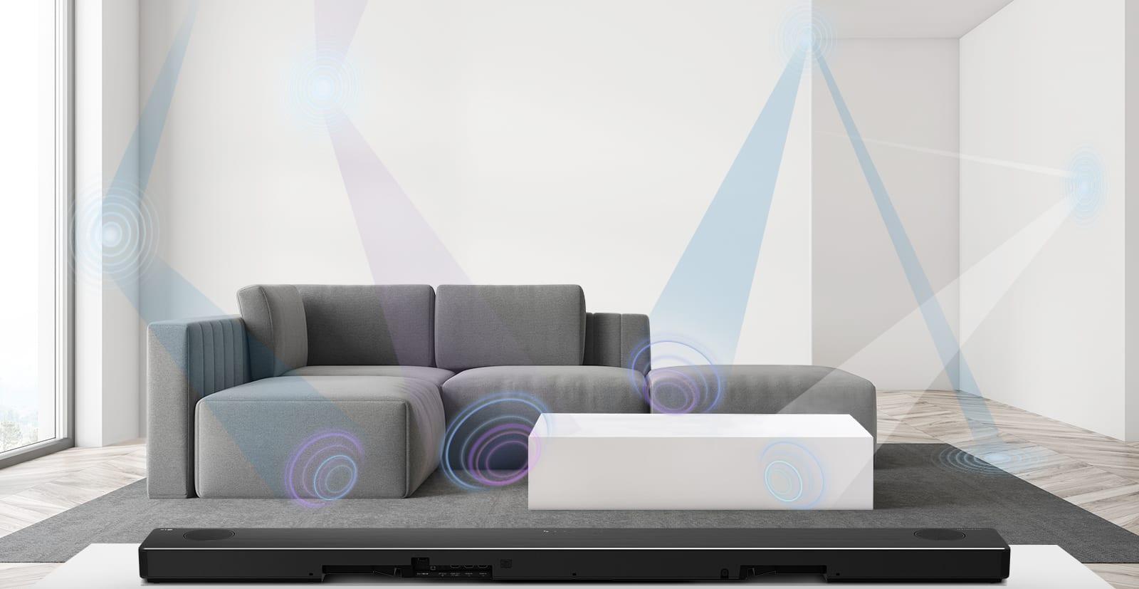 LG готовит к выпуску линейку саундбаров с премиальным качеством звучания (sn11rg ai room calibration)