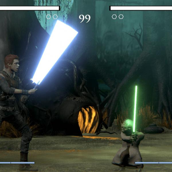 Разработчик создал файтинг по мотивам Star Wars (ssssssssss)