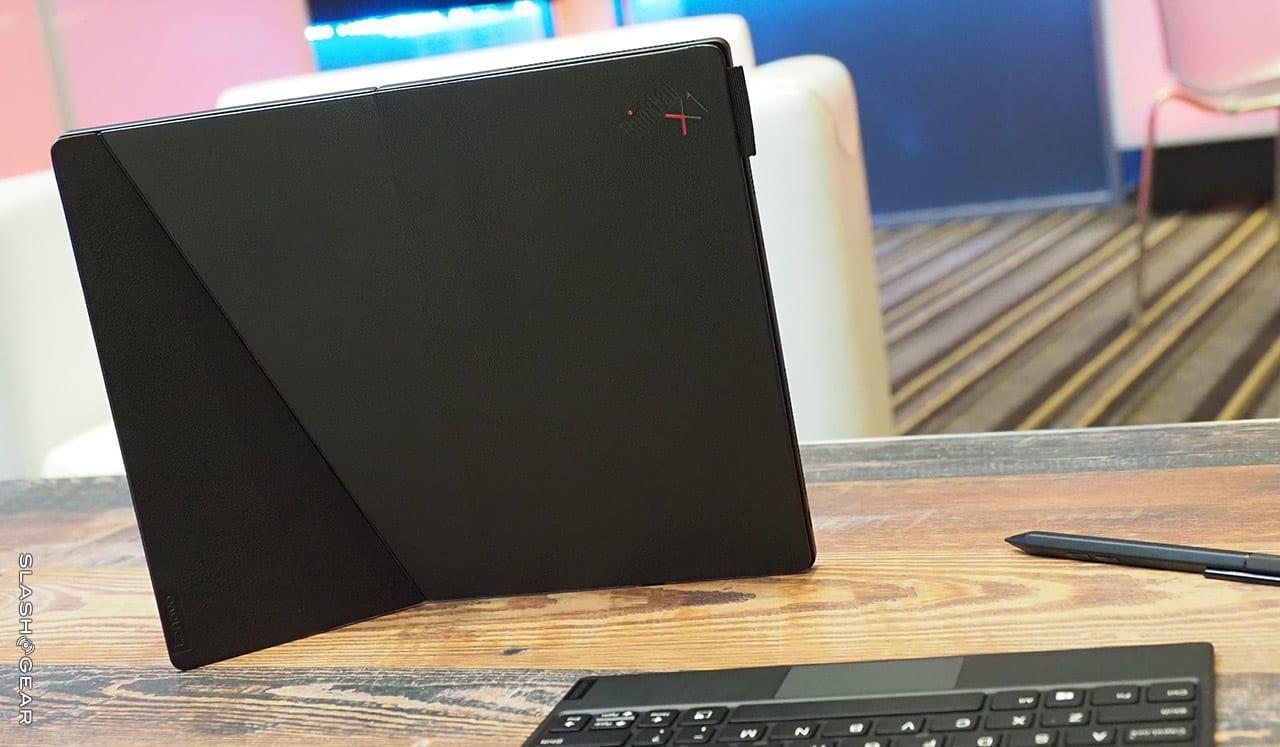 CES 2020. Lenovo сделала первый в мире ноутбук с гибким экраном ()