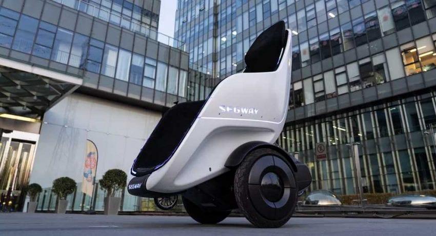 CES 2020. Компания Segway представила новый транспорт — S-Pod (the segway s pod is a 24mph throne on wheels 850x460 1)