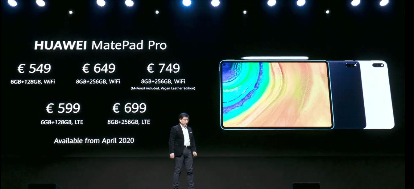 Huawei показала планшет MatePad Pro 5G (111)