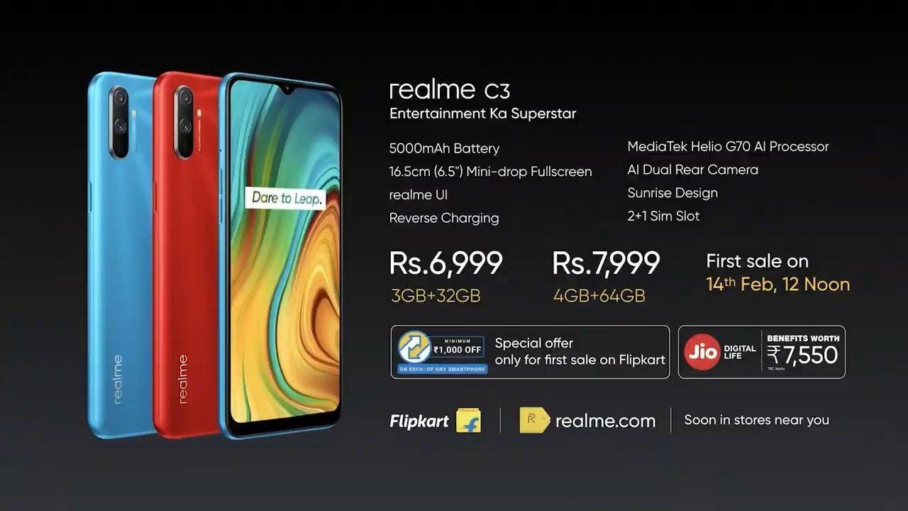 Компания Realme официально представила смартфон Realme C3 (2020 02 06 12 51 13)