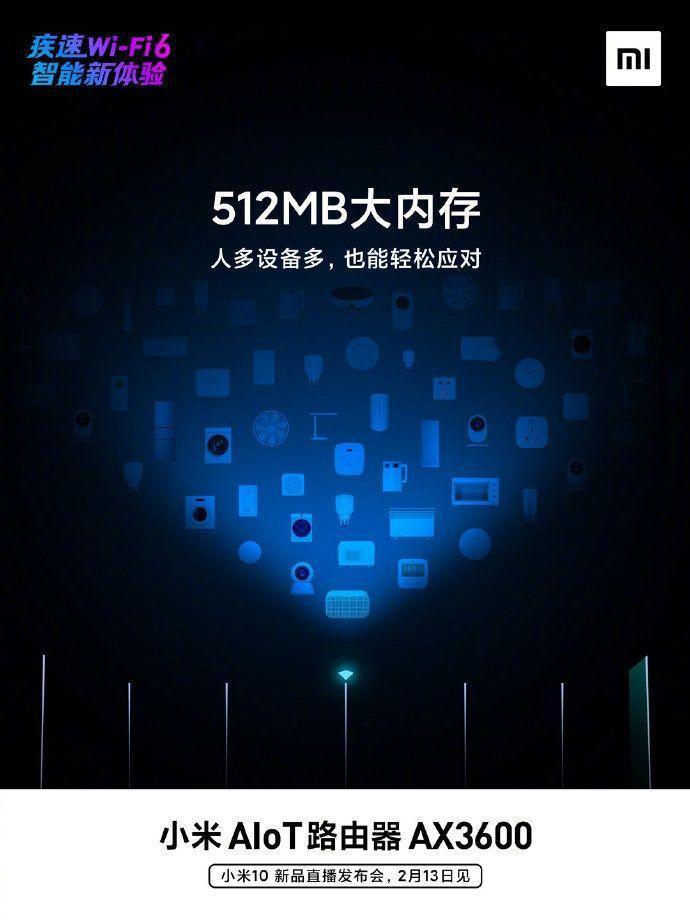 Xiaomi готовит к выпуску маршрутизатор Xiaomi AIoT AX3600 (20200212 113219 73)