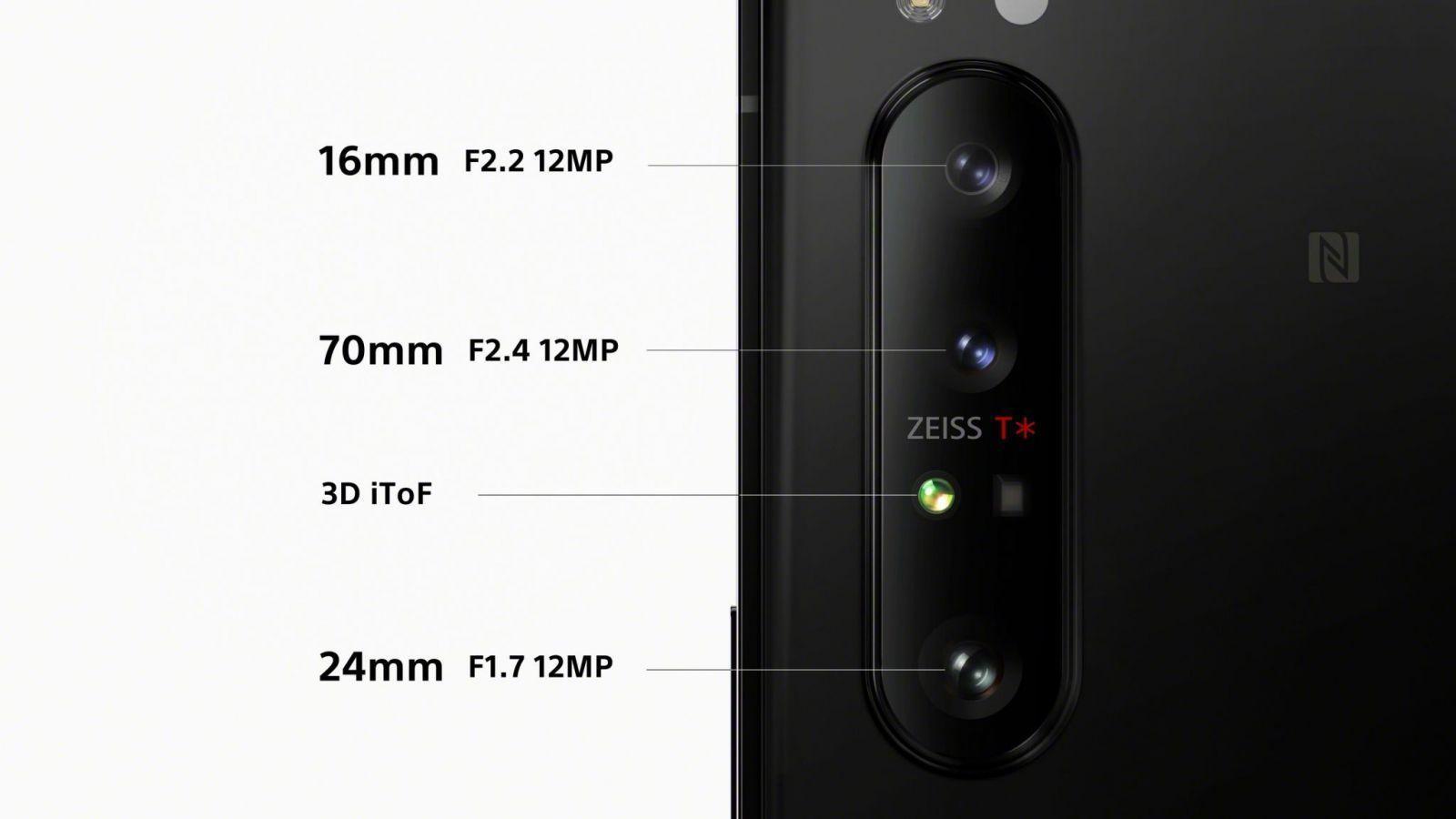 Sony официально представила флагманский 5G-смартфон Xperia 1 II (203 camera triplelens large scaled)