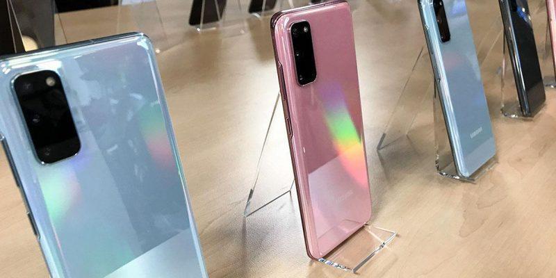 В России стартовал приём предзаказов на смартфоны из линейки Galaxy S20 (755814486484717)