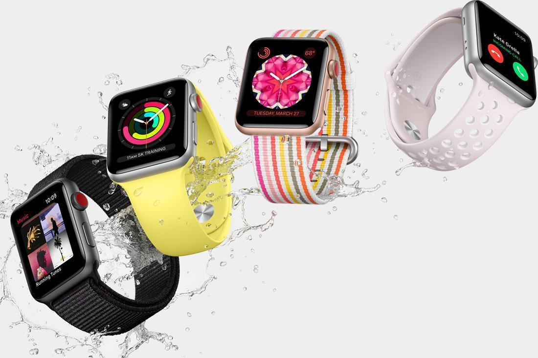 Самые популярные гаджеты для спорта (apple watches large)