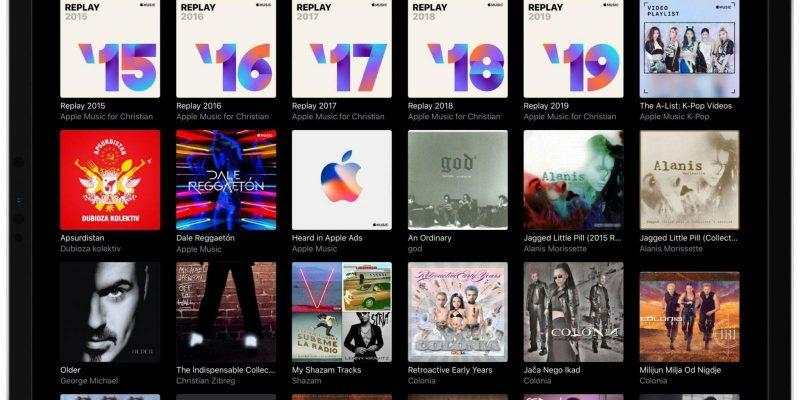 Apple выпустила плейлист Apple Music Replay 2020 (apple music replay ipad 001 scaled 1 scaled 1)