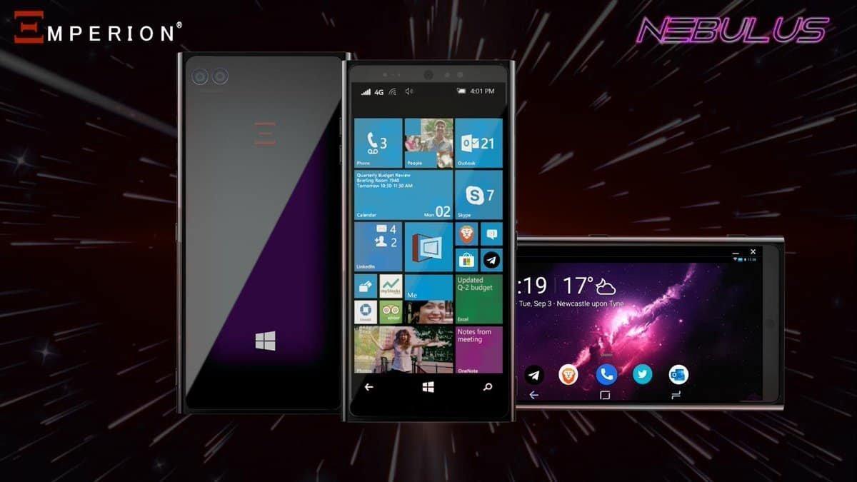 Анонсировали первый смартфон с ОС Windows 10 и поддержкой Andoid-приложений ()