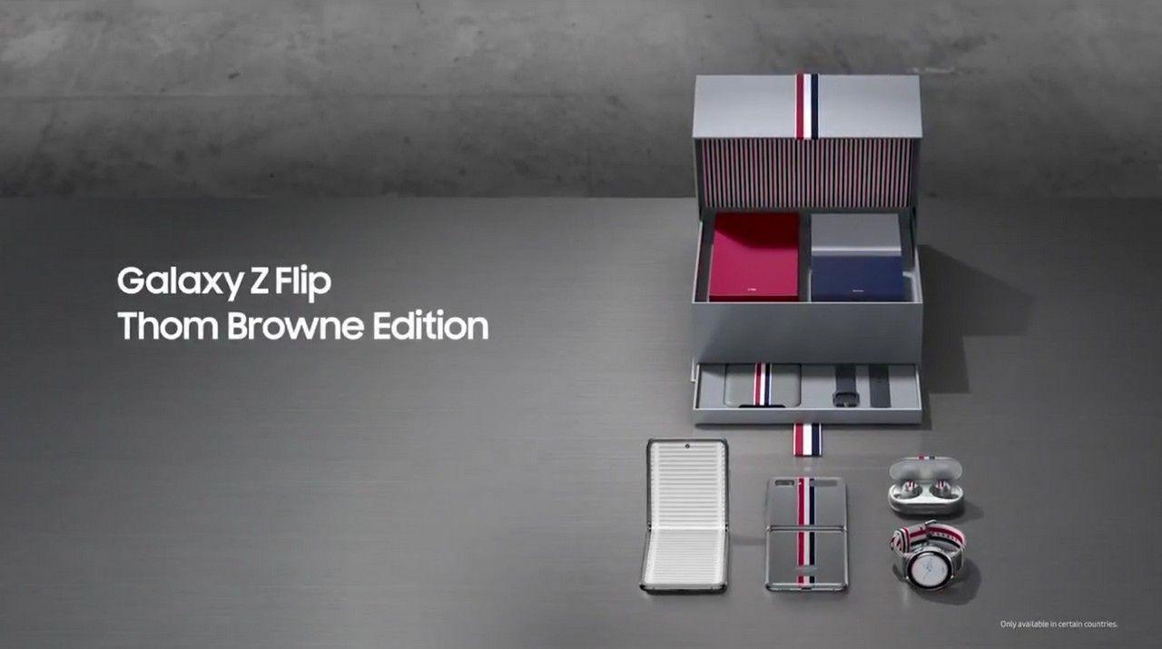 Galaxy Flip Z Thom Browne Edition