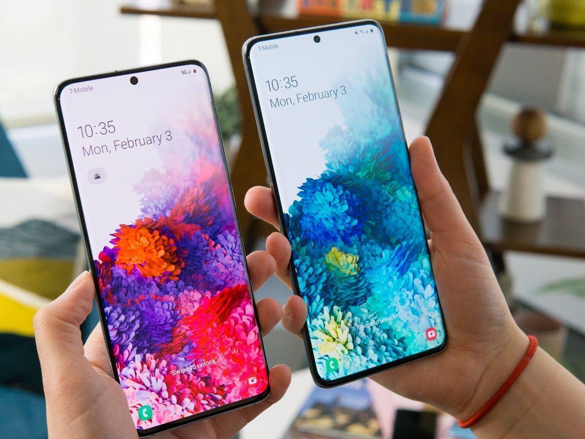Samsung представил смартфон Galaxy S20, S20+ и S20 Ultra (galaxy s20 vs s20 plus)