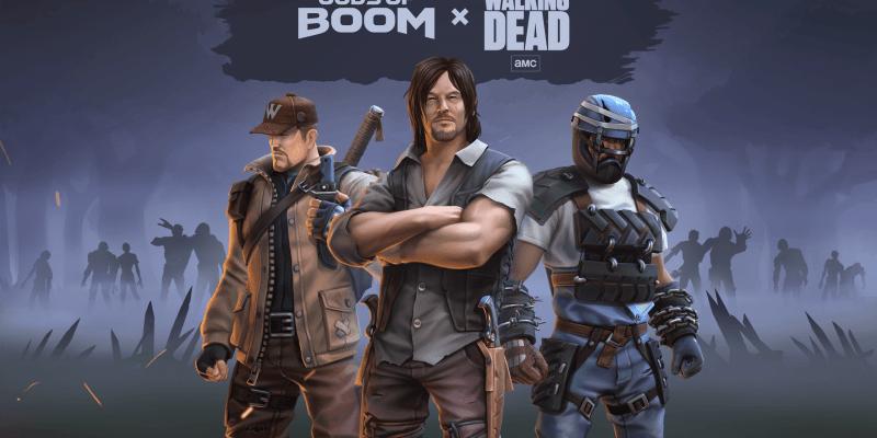 В Gods of Boom будут Ходячие мертвецы (gods of boom i the walking dead)