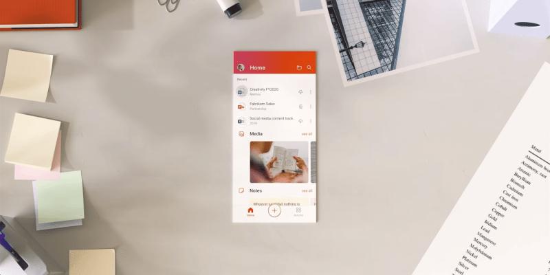 Microsoft выпустила единое приложение Office для Android (introducing the office mobile app 0 14 screenshot)