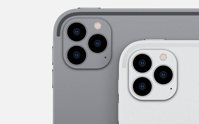 12-дюймовый Apple iPad Pro появится в марте (ipad pro camera iphone 12 camera)