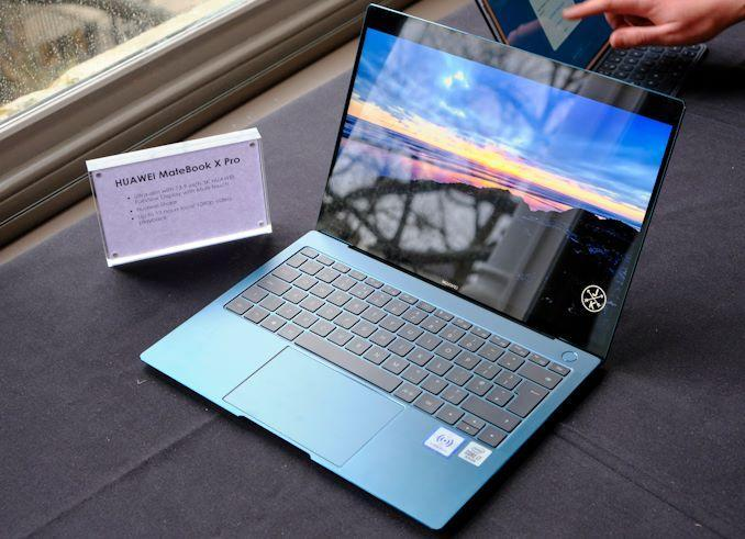 Huawei представил новые ноутбуки MateBook X Pro и MateBook D ()